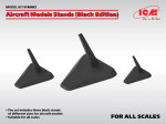 Aircraft models stands in 1/48,1/72,1/144 scales (Black edition)