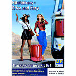 Truckers series. Hitchhikers, Erica & Kery
