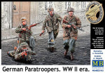 German Paratroopers. WW II era