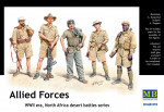 Wholesale: Allied Forces. North Africa desert battles series