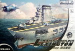 Warship Builder- Lexington (Cartoon model)