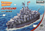 WARSHIP BUILDER Cleveland (CARTOON MODEL)