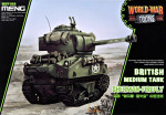 British Medium Tank Sherman-Firefly (World War Toons series)