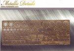 Photo-etched set 1/144 Airbus A319
