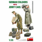 German Soldiers With Jerry Cans