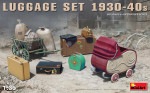 Luggage set, 1930-40s