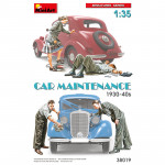 Car Maintenance 1930-40s
