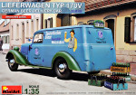 Lieferwagen Mercedes-Benz 170V (German Beer Delivery Car)