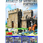 Assault of Medieval fortress
