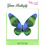 "Embroidery kit ""Green Butterfly"""