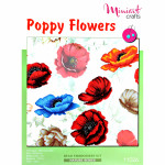 "Embroidery kit ""Poppy Flowers"""