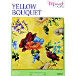 "Embroidery kit ""Yellow Bouquet"""