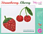 "Embroidery kit ""Strawberry. Cherry"""