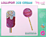 "Embroidery kit ""Lollipop. Ice Cream"""