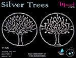 "Embroidery kit ""Silver Trees"""