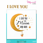 "Embroidery kit ""Love you to the Moon and Back"""