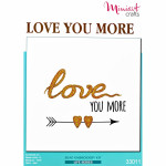 "Embroidery kit ""Love You More"""