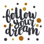 "Embroidery kit ""Follow your dream"""