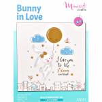 "Embroidery kit ""Bunny in Love"""