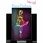 "Embroidery kit ""Neon Fashion"""