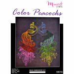 "Embroidery kit ""Color Peacocks"""