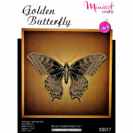 "Embroidery kit ""Golden Butterfly"""