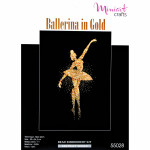 "Embroidery kit ""Ballerina in Gold"""