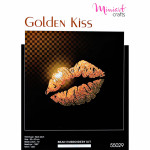 "Embroidery kit ""Golden Kiss"""
