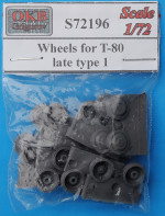 Wheels for T-80, late, type 1