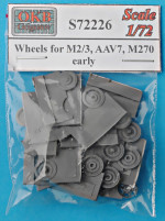 Wheels for M2/3, AAV7, M270, early