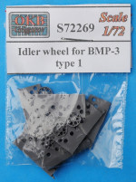 Idler wheel for BMP-3, type 1