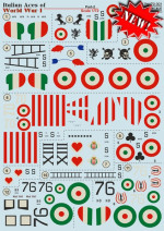 "Decal for Nieuport 17 ""Italian Aces of WW I"", part 2"