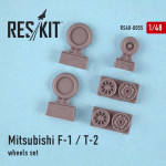 Wheels set for Mitsubishi F-1/T-2