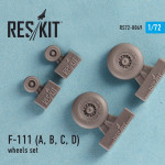 Wheels set for F-111 (A, B, C, D)