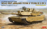 M1A2 SEP Abrams TUSK I/TUSK II with full interior