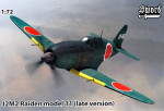 J2M2 Raiden model 11, Late (2 decal versions)