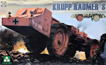 "WWII German Super Heavy Mine Clearing Vehicle ""Krupp Raumer S"""