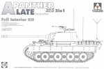 "WWII German medium Tank  Sd.Kfz.171/267 ""Panther"" A, late production w/ full interior kit # 2"