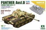 WWII German medium Tank  Sd.Kfz.171 Panther  Ausf.D Early/Mid production w/full interior