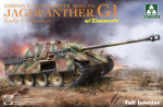 Sd.Kfz.173 Jagdpanther G1 Early Production w/zimmerit & full interior
