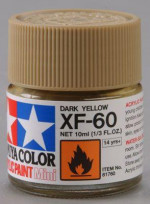 Acrylic Mini XF-10ml 60 dark yellow