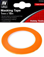 Precision Masking Tape 1 mm x 18 m, 2 pcs
