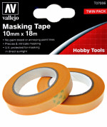 Precision Masking Tape 10 mm x 18 m, 2 pcs