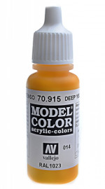 014: Model Color 915-17ML. Deep yellow