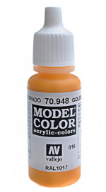 016: Model Color 948-17ML. Golden yellow
