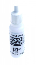 001: Model Color 951-17ML. White
