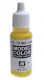 011: Model Color 952-17ML. Lemon yellow
