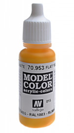 015: Model Color 953-17ML. Flat Yellow