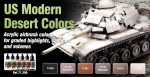 "Paint set ""US Modern Desert Colors"", 6 pcs"