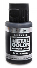 Metal Color-32ML. Burnt Iron